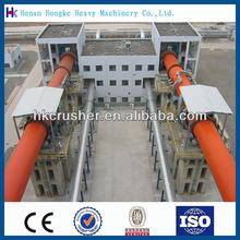 High capacity horizontal quick lime rotary kiln