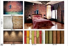Famous and good quality brick new design wallpaper