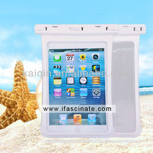 2015 waterproof accessory for IPAD MINI CASE with side window pass IP68