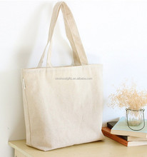 2015 Wholesale Factory Supplier Women Canvas Shopping Tote Bag