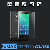 Guangzhou Manufacturer! Band VMAX high transparant 0.33mm 9H 2.5D Aati-shock Tempered Glass screen protector for Lenovo VIBE P1M