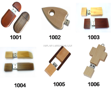 Factory Price Wooden USB 2.0 3.0 Flash Disk, Drive