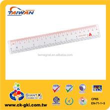 Advertising custom 20cm PVC soft measuring ruler