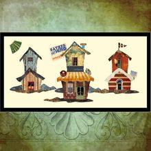 PC013 Cottage Fashion Handmade Relief Wall Painting for Wall Decoration