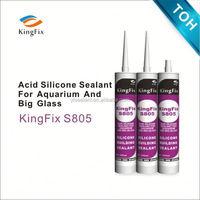 Kingfix S805 Acetic aquarium structural silicone sealant for hollow glass