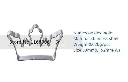 плесень 3шт/много Корона форму свадебное печенье режущие инструменты бисквитные печенья резец