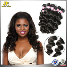 JP Hair 2015 New Arrival Wholesale Price Natural Color Brazilian Loose Black Girl Hair Extensions