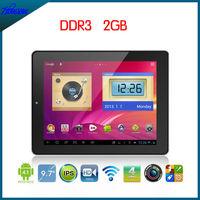 Onda V972 Quad core Allwinner A31 DDR3 2GB 7000mAh battery android 4.1 tablet pc
