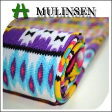 para hacer punto mulinsen textil de poliéster tejido de punto impreso tela de cachemira precio