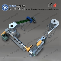 GOLD supplier for plastic film recycle granulator machine/pe film recycling line/film recycling line