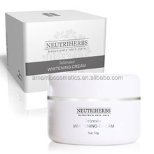 Skin whitening face cream Miracle Skin Lightener Whitening Cream skin elasticity whitening anti-wrinkle hydrating long lasting