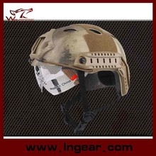 2015 Wholesale Price Tactical Military PJ Helmet With Clear Visor For Sale