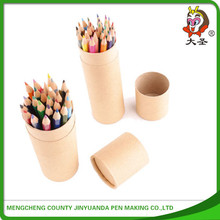 Lastest style high quality school wooden color pencils case