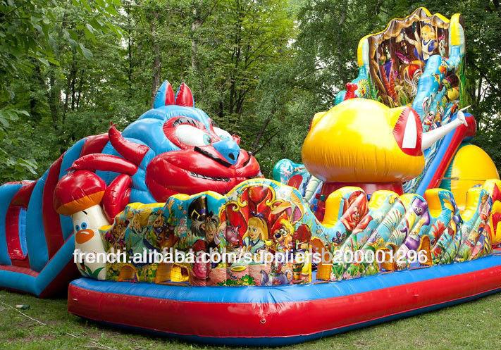 pvc gonflable géant aire de jeux pour les enfants