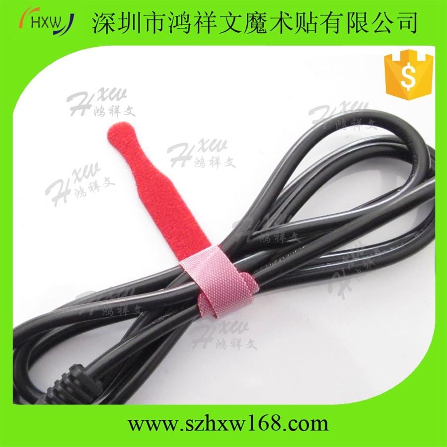 custom self-locking hook loop wire tape