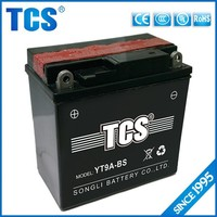 Economical durable mf motorcycle battery 12v 3ah