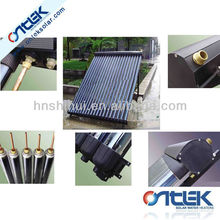 solar collector for water heater,heat pipe solar collector for solar system,pressurized solar collector