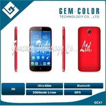 3G Mobile phone GC47 with gps bluetooth slim shell