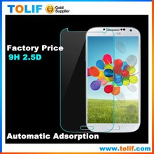 Mobile phone HD 9H tempered glass screen protectors for samsung galaxy s4 i9500