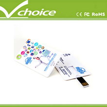 advertising credit card size usb