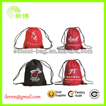 Fashion Basketball Drawstring Backpack for Promotion