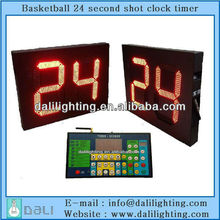 NBA CBA equipment factory supplier of scoreboard with 24 second basketball
