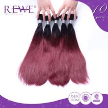 100% warranty silk smooth virgin temple indian remy micro hair weft extensions