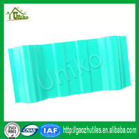 low temperature resistant Shingle Layers high wave upvc roof tiles
