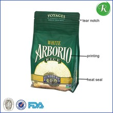 China Supplier 25kg kraft paper bag / 25kg bag dimension / 25kg rice bag