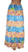 las mujeres falda larga de moda caliente 2014