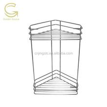 Target 2 tier metal wire bathroom corner rack/ spice corner rack