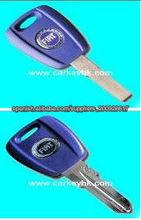Llave del transpondor de Fiat, llave de la viruta