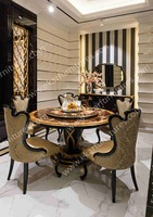 Alibaba wholesale antique french round dining wooden table