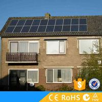 Home use stand alone normal solar system 500watt