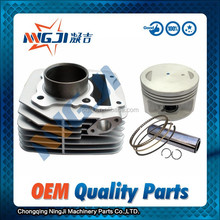 Haojue EN125 Motorcycle Cylinder kit High Quality Motorcycle Parts Motorcycle Engine Parts Block 57mm diameter