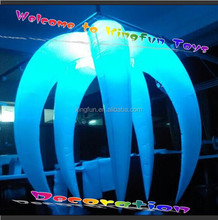 New year lighted inflatable star/LED X-mas decorations
