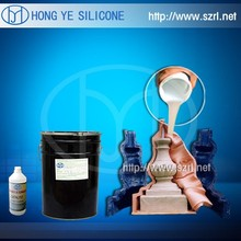 silicone for making statues gypsum mold