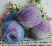 Wool/acrylic/mohair blended fancy yarn knitting yarn