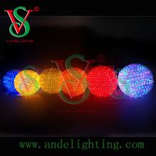 led christmas lights wholesale 3d ball motif light holiday living outdoor decoration
