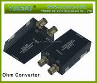 Communication Network 75 ohm/ 120 ohm converter