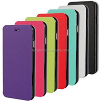 For iphone 6 magnetic ultra thin leather slot wallet stand case