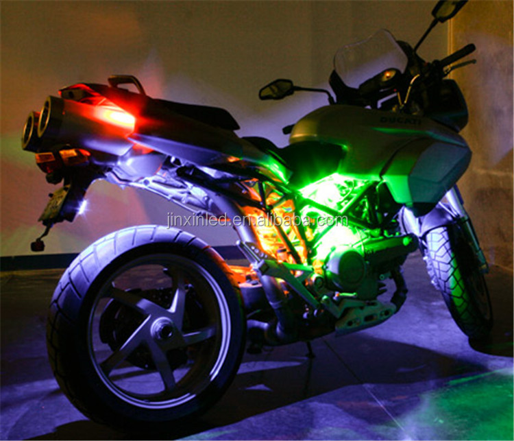 Led 5050 strip kit motorcycle lights and car decoration parts and motorcycle led accent light am x6 app ducati aloadofball Image collections