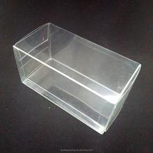 2015 Alibaba de embalaje personalizado de acetato claro caja de regalo