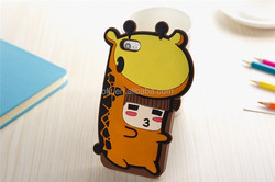 2015 Hot Selling Fashion Design Rubber Case For iPhone 6 Cover Custom Cute Silicon Back Covers