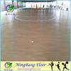 Plastic flooring type resilient surface futsal flooring