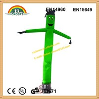 Outdoor advertising inflatables, green air dancer, air dancer