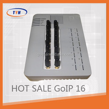 Best price and warranty for Fixed Wireless Terminal VoIP Gateway gsm GoIP 16 port gsm gateway dinstar 32 port gsm voip gateway