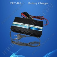 Safely use solar 10a car battery charger 12v