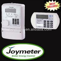 JOY311 split STS prepay Three Phase Energy/electric Meter