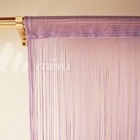 Decorative polyester embroidered curtains for living
